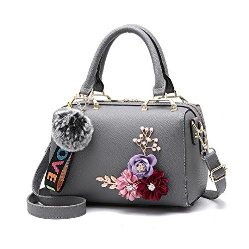 Frauen Taschen Großhandel Handtaschen Wild Temperament Bequeme Beiläufige Tasche Gray 20cm*Max Length*30cm