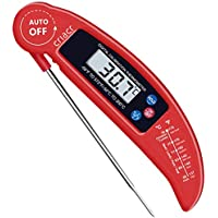 Criacr Meat Thermometer, KA1 Food Thermometer, Digital Instant Read Candy/Meat Thermometer with Probe 1 Pack