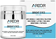 Bright Eyes - Eye Cream for Dark Circles, Puffiness, Wrinkles, Skin Firming & Lift Skin Under Eyes-75% ORG