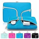 egiant Aktentasche, Schutzhülle, Handtasche mit Reißverschluss für alle 13,3 Zoll Laptops, MacBook Air 13,3 Zoll und Pro 13,3 Zoll königsblau 15-15.4 inch