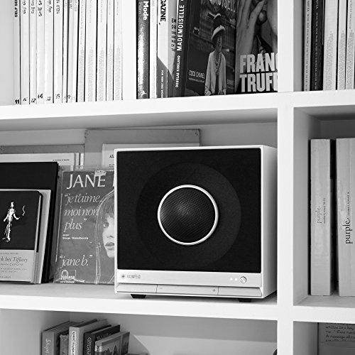 Teufel Raumfeld Stereo Cubes HiFi Streaming Regallautsprecher Weiß