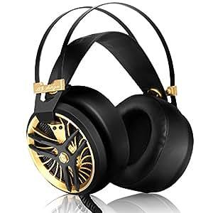 DIZA100 Lightweight PC Headphones with Microphone Cool ...