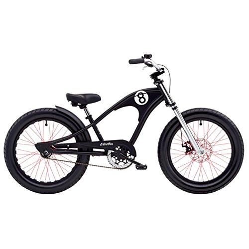 0 Zoll Kinder Fahrrad 3 Gang Jungen Beach Cruiser Kids Rad schwarz, 528801 ()