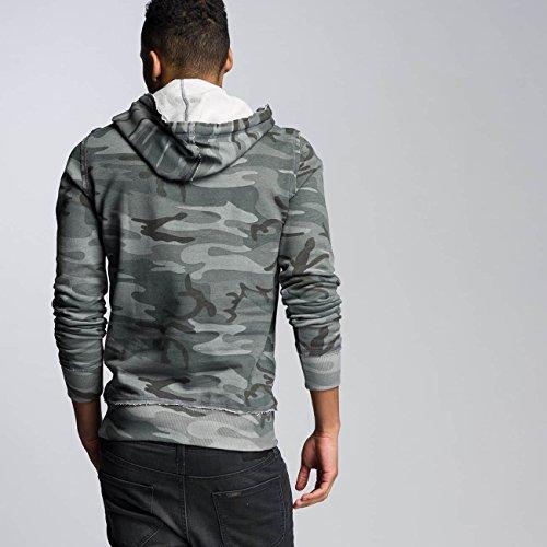 VSCT Clubwear Uomo Maglieria / Felpa con cappuccio Raw Edge Camo Mimetico