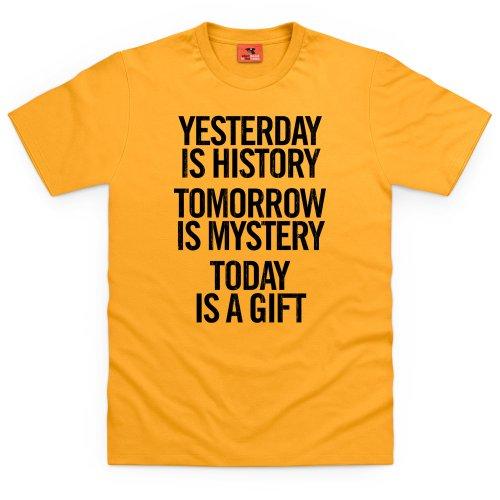 Yesterday T-Shirt, Herren Gelb