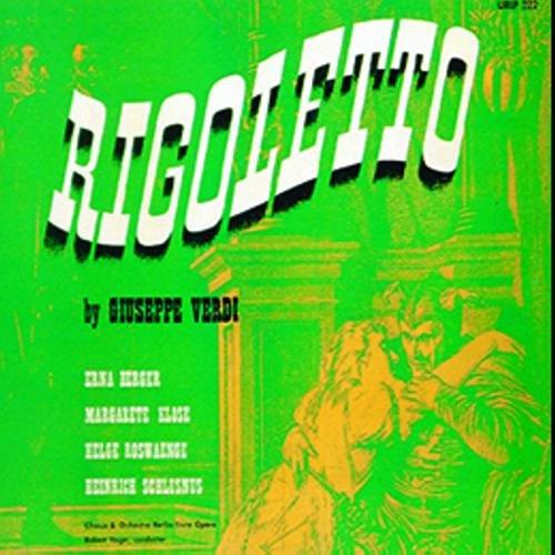Verdi : Rigoletto (Dt.) 1944. Heger, Berger, Rosvaenge, Schlusnus.