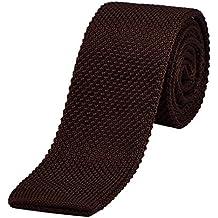 rilasciare informazioni su arte squisita Raccogliere Amazon.it: cravatta - Marrone