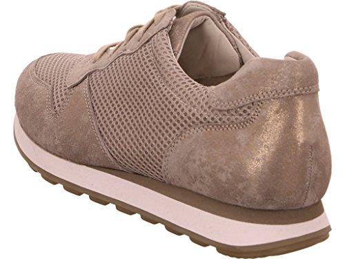 8b3ea458bc3147 Gabor Damen Sneaker Beige