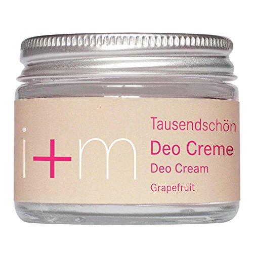 festes deo i+m Naturkosmetik Berlin: Tausendschön Deo Creme Grapefruit (50 ml)