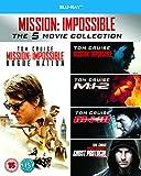Mission Impossible 1-5 [Blu-ray] [Region Free]