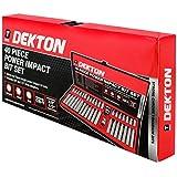 Dekton DT85810 - Juego de brocas de impacto (40 piezas)