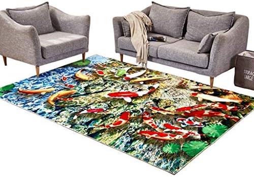 Designer Tappeti Moderni Stile Minimalista Salotto Tavolino Divano Pesce Tappeto Romantico Letto da Letto Tappeto Pesce Divano Motivo (Dimensioni   120×160cm) 7d43ae