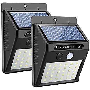 Solar Lights Outdoor Hetp 46 Led Solar Motion Sensor