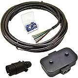Feu de remorque Electrics Kit Plug Rewire, Boîte de jonction, câble de 10m Les bornes de câble