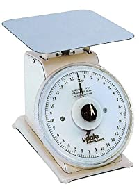 Update International (UP-72R) 2 Lb Analog Portion Control Scale w/Rotating Dial