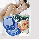 GAOLI Schnarchen Stopper Stecker Mundstück-Schnarchen Lösung, schlafhilfe, Mundpflege, molaren, Mundstück (geeignet für die meisten, transparent)