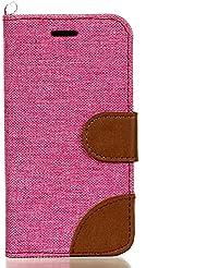 BONROY® Coque pour LG K4,Housse en cuir pour LG K4,imprimé étui en cuir PU Cuir Flip Magnétique Portefeuille Etui Housse de Protection Coque Étui Case Cover avec Stand Support Avec des Cartes de Crédit Slot et Fonction Support pour LG K4
