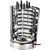 Rosenstein & Söhne Döner- und Schaschlik-Grill für zu Hause, 1.500 Watt, bis zu 1,5 kg