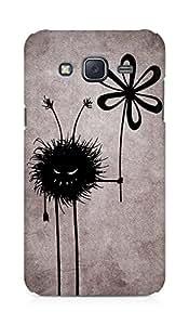 Amez designer printed 3d premium high quality back case cover for Samsung Galaxy J5 (Evil flower bug)