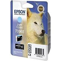 Epson T0965 Inkjet Cartridge UltraChrome K3 Page Life 865pp Light Cyan Ref T09654010