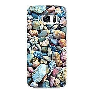 Cute Pebbles Multicolor Back Case Cover for Galaxy S7 Edge