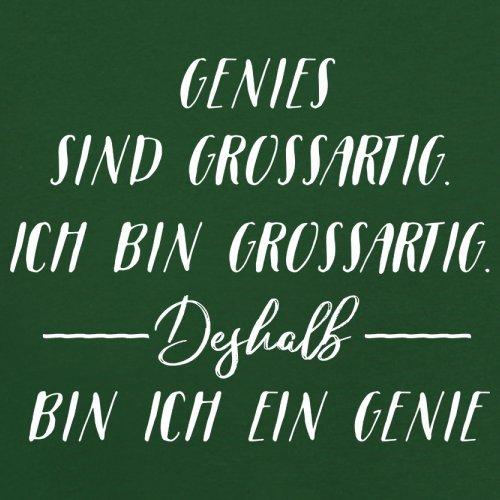 Ich Bin Grossartig - Genies - Herren T-Shirt - 13 Farben Flaschengrün