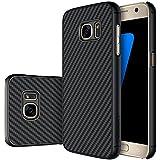 NILLKIN Coque en fibre synthétique pour Samsung Galaxy S7–Noir