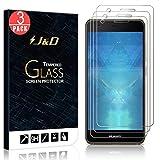 3 Packs Protection écran Huawei Nova, J&D [Verre Trempé] Protection écran Clair HD pour Huawei Nova - Protège l'écran de la chute et des rayures