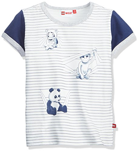 Lego Wear Baby-Jungen T-Shirt Duplo Boy Tyler 303, Weiß (Off White 102), 80