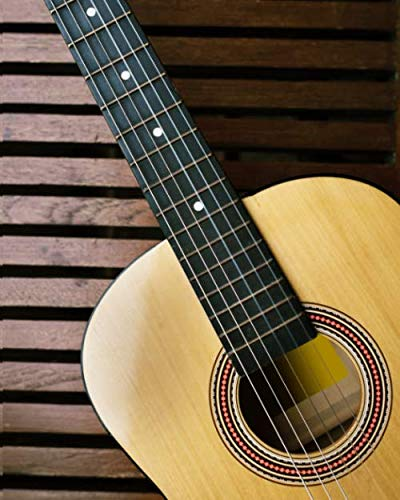 GUITAR TABS NOTEBOOK: Tablature for composing music