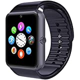 Padraig GT08 with Camera,Touch Screen, Bluetooth, Support SIM Card, SD Card Smartwatch (Black)