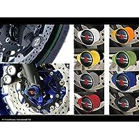 Gold XX ecommerce Motorrad Vorderer und hinterer CNC-Radgabel-Gleitschutz f/ür 2014-2016 Y-a-m-a-h-a MT FZ 07 FZ-07 2015