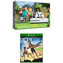 Xbox One - Pack Consola S 500 GB: Minecraft + ReCore