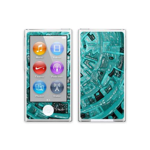 Diabloskinz H0081-0004-0056 Blue Aztec Schutzhülle für Apple iPhone 5/5S