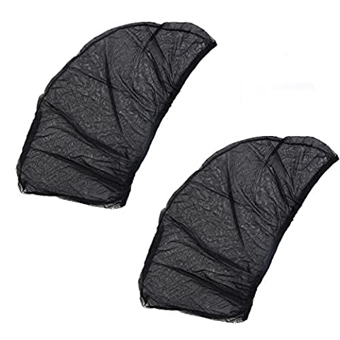 1 Pair Sun Shade Car Side Window Sun Glare and UV Rays Protection Folding Sun Visor Net Fits Most Small and Medium Cars To Protect Your Baby Children