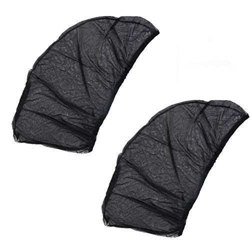 1Paar verstellbare Auto Sonnenschutz Net Mosquito Net Sonne Shades Camping Outdoor verhindern UV-Strahlen