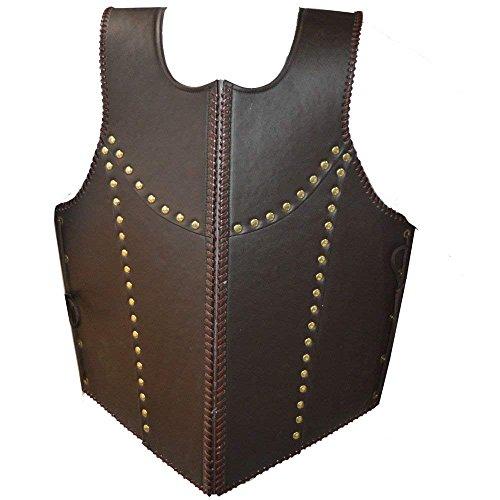 Nasir Ali Mittelalter Brauner Drache Krieger Rüstung Jacke Kostüm - Drachen Krieger Kostüm