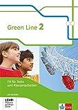 Green Line 2: Fit für Tests und Klassenarbeiten mit Lösungsheft und CD-ROM Klasse 6 (Green Line. Bundesausgabe ab 2014)
