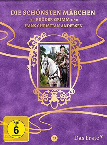 Die 10 schönsten Märchen der Brüder Grimm und Hans Christian Andersen - Sechs auf einen Streich - LIMITIERT (10 DVDs)