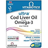 Vitabiotics Ultra Cod Liver Oil - 60 Capsules