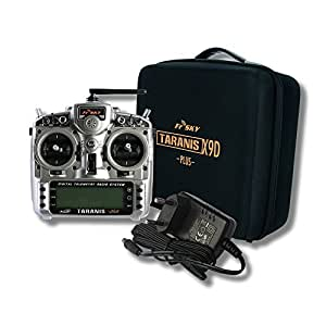 FrSky Taranis X9D Plus + Soft Koffer - 2,4 GHz ACCST