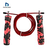 PKDREAMER Speed Rope Springseil High Speed Seil Springseil Speed - Perfekt Für Crossfit, Double Unders, MMA, Training, Fitness Workout, Freeletics, Rope Skipping, Box