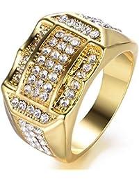 autentico lucentezza adorabile estremamente unico Amazon.it: diamante finto - Anelli / Uomo: Gioielli