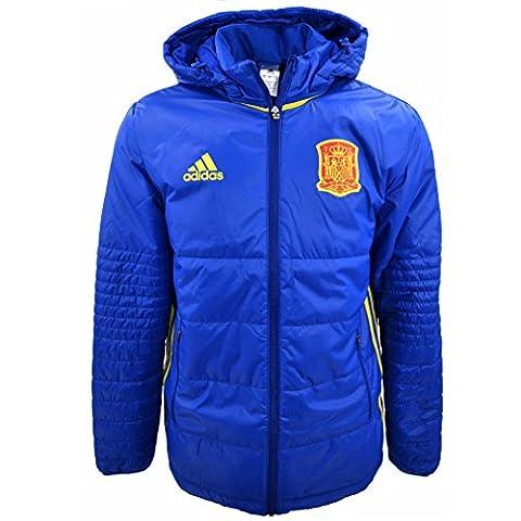 adidas Performance-Doudoune Football Espagne FEF PAD JKT PNS Bleu
