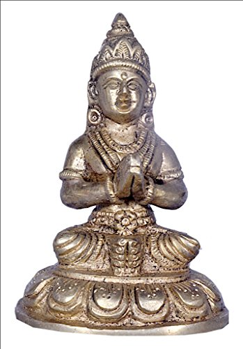 Goddess Parwati Brass By JY