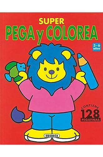Super Pega Y Colorea
