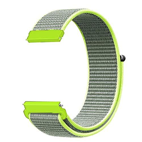 Neu!!! Pondkoo Sport Band ist kompatibel mit Samsung Galaxy Watch, Ersatzarmband mit Nylongurt, kompatibel mit Samsung Galaxy Watch Smart Fitness-Uhr