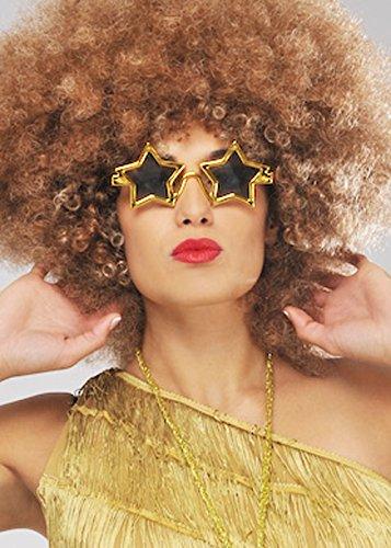 70s Disco Goldstern Gläser