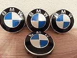 4x Original BMW Nabendeckel 1x Satz Deckel Felgendeckel Kappen für BMW 1er 2er 3er 4er 5er 6er 7er X1 X3 X5 X6 Z4 (Durchmesser 68 mm) (68)