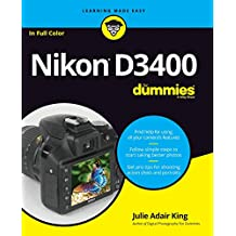 Nikon D3400 For Dummies (For Dummies (Lifestyle))